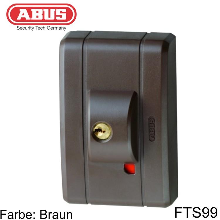 fenstersicherung abus fts99 weiss braun wagner sicherheit. Black Bedroom Furniture Sets. Home Design Ideas