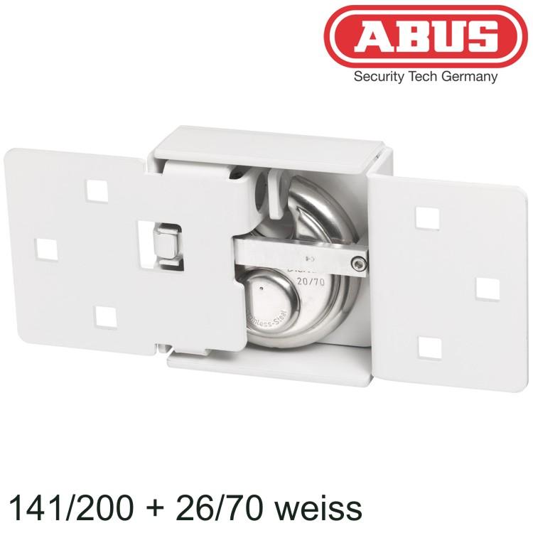 ABUS Überfalle 141//200+26//70 weiß