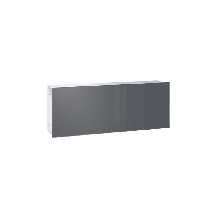 briefkasten serafini flat wide front glas farbig wagner. Black Bedroom Furniture Sets. Home Design Ideas