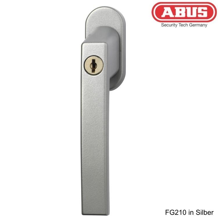 fenstergriff abschlie bar abus fg210 wagner sicherheit. Black Bedroom Furniture Sets. Home Design Ideas