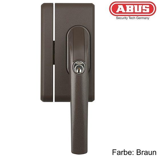 fenstersicherung abus fo400n weiss braun silber wagner sicherheit. Black Bedroom Furniture Sets. Home Design Ideas