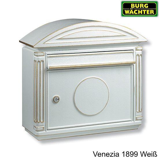 briefkasten burg w chter venezia 1899 weiss bronze wagner sicherheit. Black Bedroom Furniture Sets. Home Design Ideas