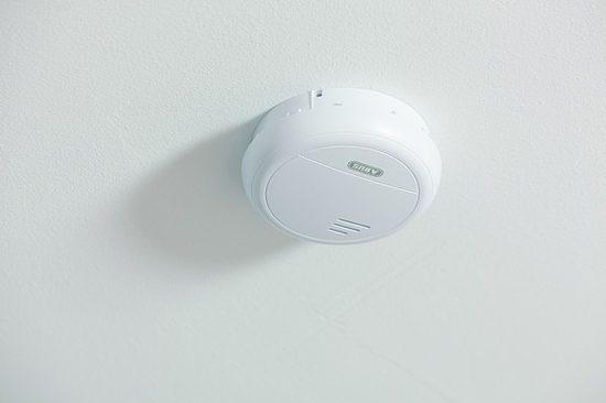 rauchmelder abus rm40 li funk wagner sicherheit. Black Bedroom Furniture Sets. Home Design Ideas