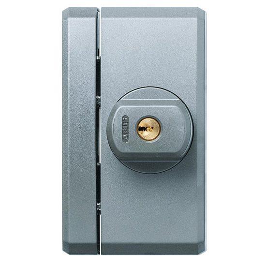 fenstersicherung abus fts96a braun weiss silber wagner sicherheit. Black Bedroom Furniture Sets. Home Design Ideas