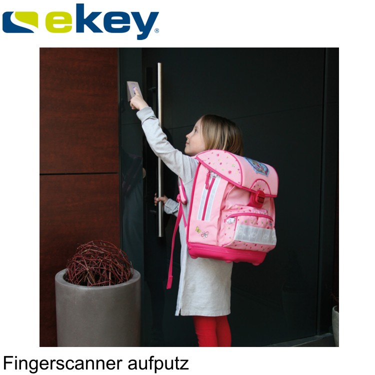 ekey fingerscan aufputz wagner sicherheit. Black Bedroom Furniture Sets. Home Design Ideas