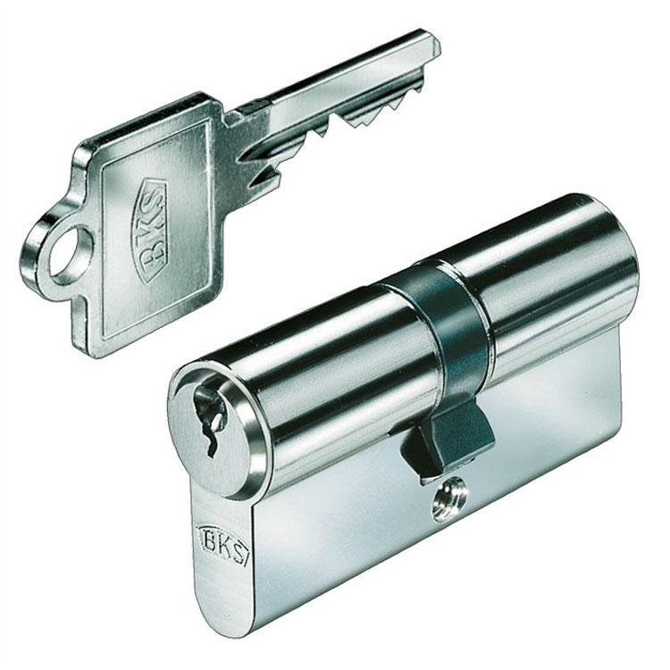 Basi AS-Profil-Doppelzylinder verschieden schlie/ßend,30//45mm mit 20 Schl/üsseln