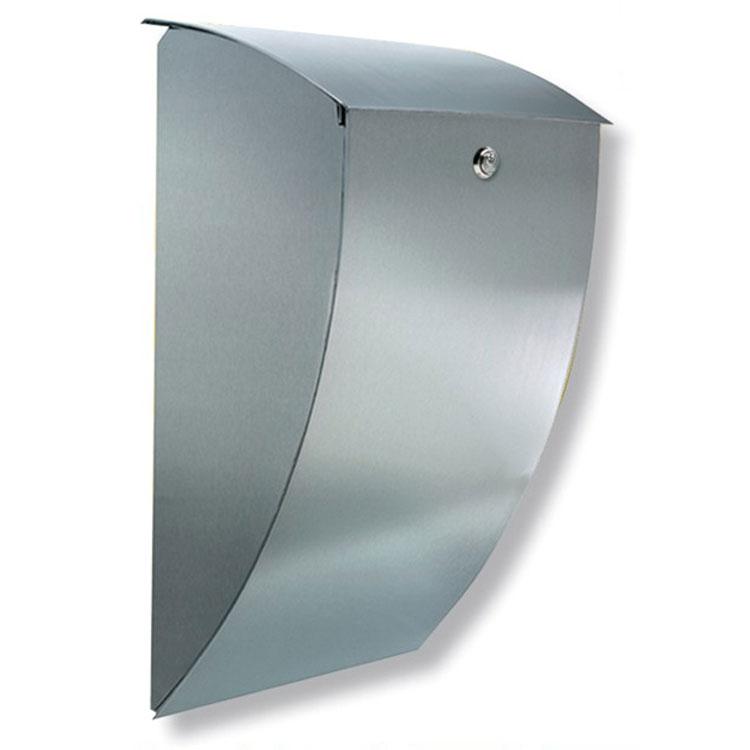 briefkasten burg w chter milano 3843 es edelstahl wagner sicherheit. Black Bedroom Furniture Sets. Home Design Ideas