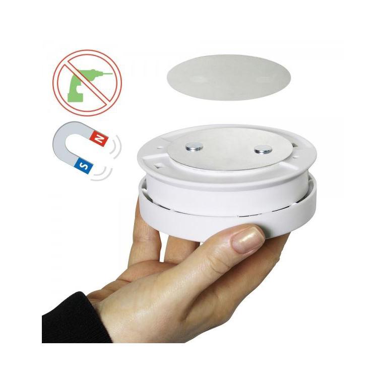 bioledex magnet pad f r rauchmelder wagner sicherheit. Black Bedroom Furniture Sets. Home Design Ideas