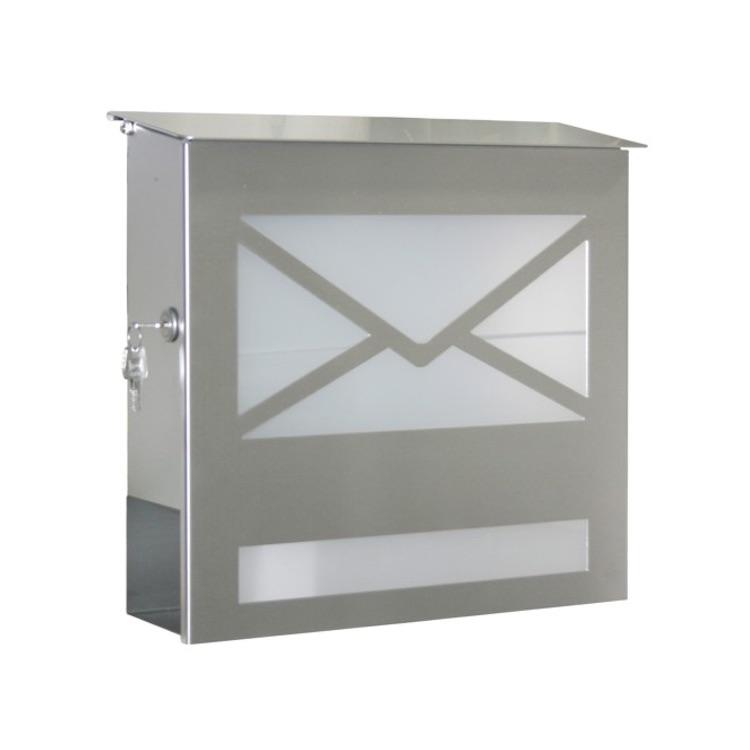 Briefkastensäule Edelstahl briefkasten heibi 43809 edelstahl wagner sicherheit