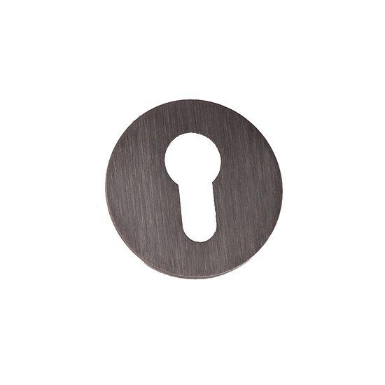 rosette rund zum kleben edelstahl wagner sicherheit. Black Bedroom Furniture Sets. Home Design Ideas