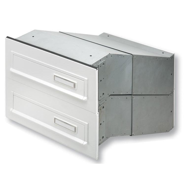 durchwurfbriefkasten f r mauerwerk burg w chter 795 wagner sicherheit. Black Bedroom Furniture Sets. Home Design Ideas