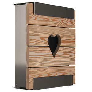 Briefkasten keilbach glasnost.wood.heart