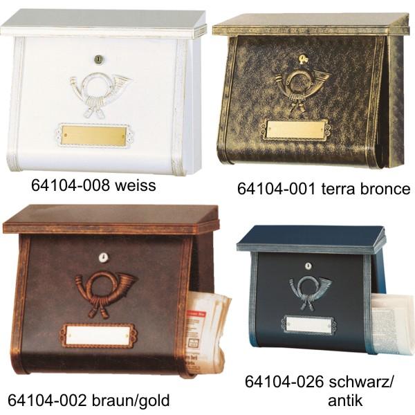 briefkasten multi heibi 64104 verschiedene farben wagner sicherheit. Black Bedroom Furniture Sets. Home Design Ideas