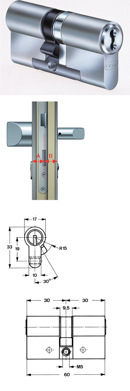 Aufbau Schließzylinder